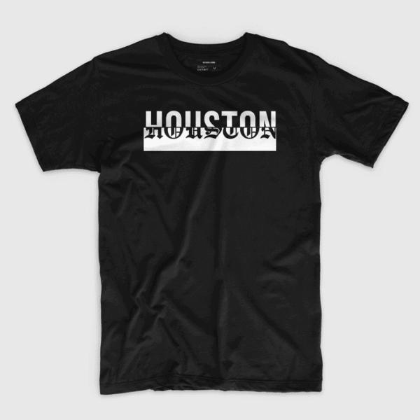 Houston (in black) - Shirt design by Richard Lerma