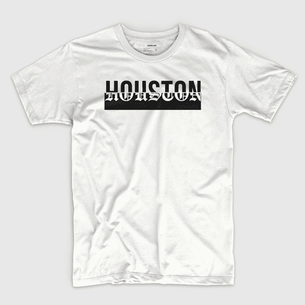 Houston (in white) - Shirt design by Richard Lerma