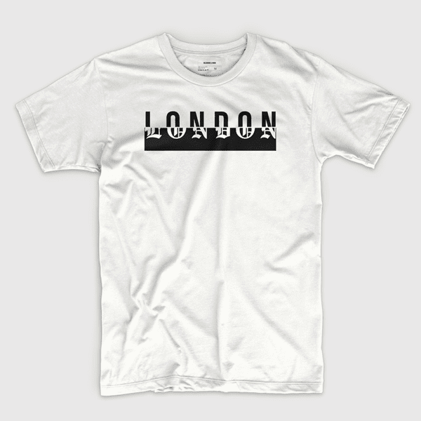 London (in white) - Shirt design by Richard Lerma