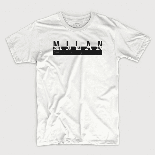 Milan (in white) - Shirt design by Richard Lerma